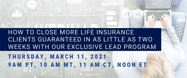 How to Close More Life Insurance Clients Recorded Webinar with Jucebox.